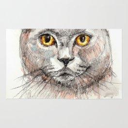 Scottish Fold Cat Rug