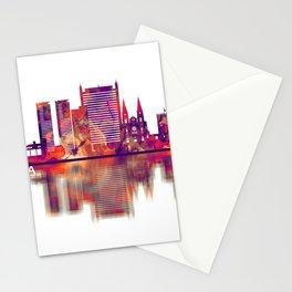 Fortaleza Brazil Skyline Stationery Cards
