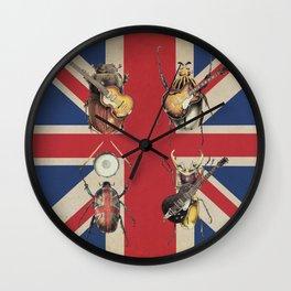 Meet the Beetles (Union Jack Option) Wall Clock