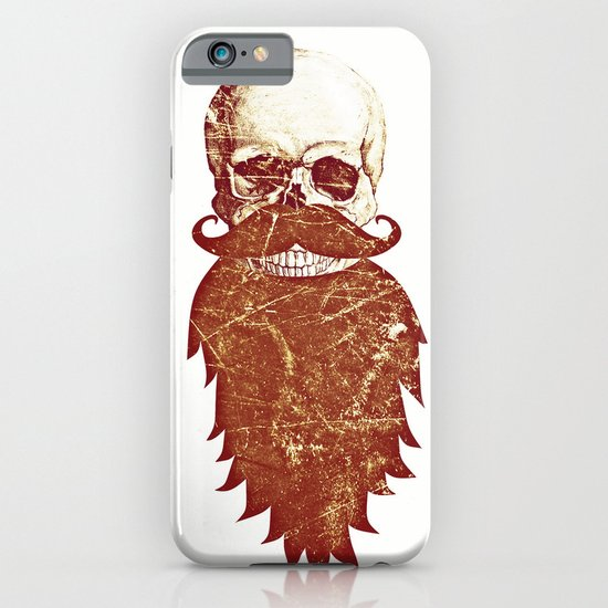 Beard Skull 2 iPhone & iPod Case