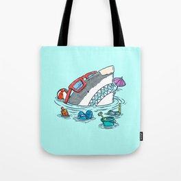 Beach Party Shark Tote Bag