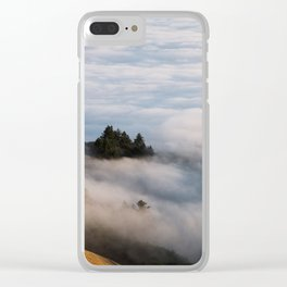 Sky Below - Mount Tamalpais II Clear iPhone Case