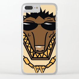 Mr.Wolf Clear iPhone Case