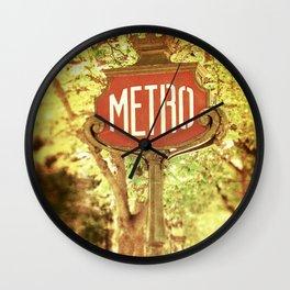 METRO2 Wall Clock