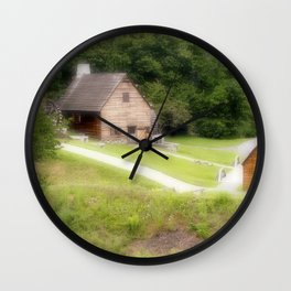 The Mill Photography Art Wall Clock