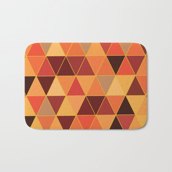 The Colors Of Fall Bath Mat