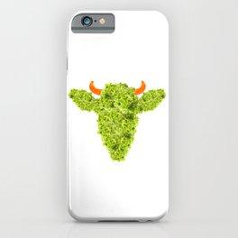 Lettuce Cow iPhone Case