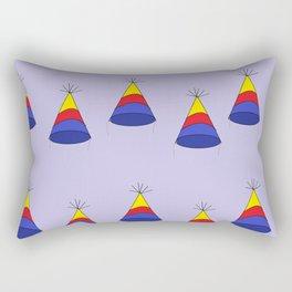 Happy Birthday Card Rectangular Pillow
