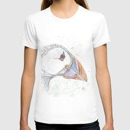 Puffin drawing T-shirt