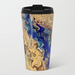 Waves of Wind Travel Mug