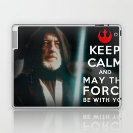 Keep Calm Star Wars - Alec Guinness Laptop & iPad Skin