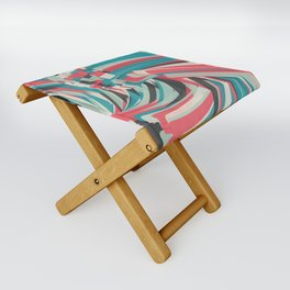 Chaos And Order Folding Stool