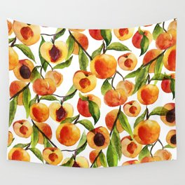 Passionate for peaches Wall Tapestry