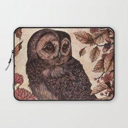Tawny Owl Pink Laptop Sleeve
