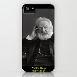 Nadar. Portrait of Victor Hugo 2 iPhone Case
