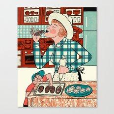 Deb at Home Canvas Print