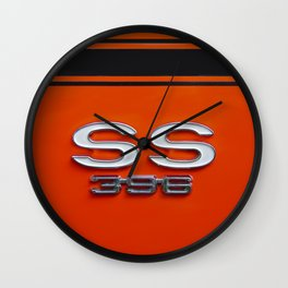 Chevy Super Sport 396 Wall Clock