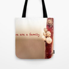 We Are a Family Tote Bag