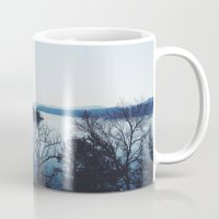 bow Mugs featuring Broken Bow by Kayla Nicole