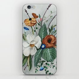 Moody Magnolia Arrangement iPhone Skin