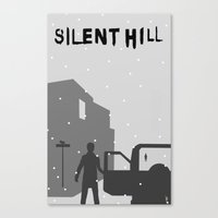silent hill Canvas Prints featuring Silent Hill by Chandler Payne