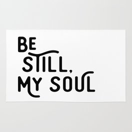 Be Still, My Soul Rug
