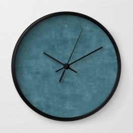Hydro Oil Pastel Color Accent Wall Clock