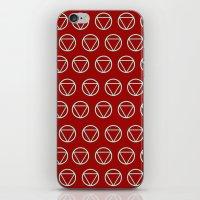 tony stark iPhone & iPod Skins featuring Stark by Johanna Stark