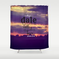 dale cooper Shower Curtains featuring Dale by KimberosePhotography