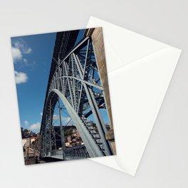Dom Luís I Bridge in Porto (Portugal) Stationery Cards