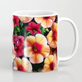 Flower Peach Petunia Coffee Mug