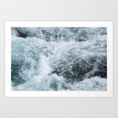 Turbulent Art Print