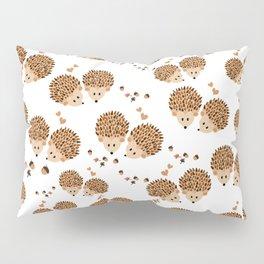 Hedgehogs in autumn Pillow Sham
