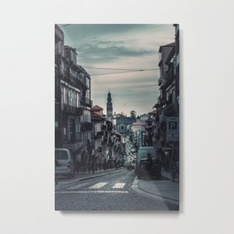 Subdued City (Color) Metal Print