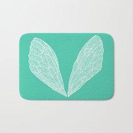 Cicada Wings – Turquoise Bath Mat
