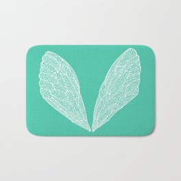 Cicada Wings – Turquoise Bath Mat