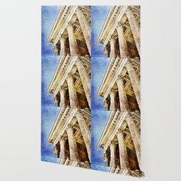 Ancient Roman Temple Wallpaper