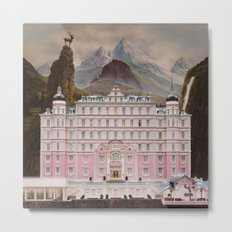 The Grand Budapest Metal Print