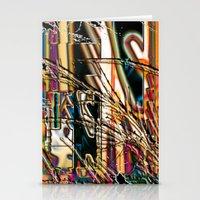 trippy Stationery Cards featuring trippy by Kayla McIntosh