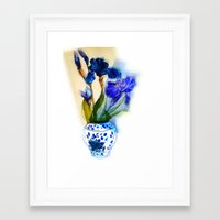 aelwen Framed Art Prints featuring Iris by Aelwen