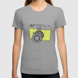 Diana F+ Glow - Plastic Analogue Camera T-shirt