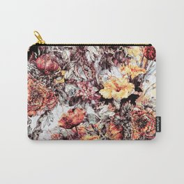 RPE FLORAL ABSTRACT Carry-All Pouch
