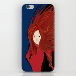 Fire Woman iPhone Skin