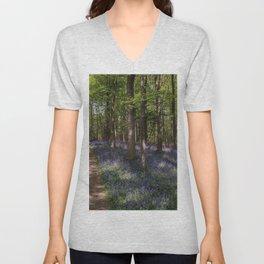 Flowered Trail Unisex V-Neck