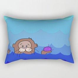 Otterly Delightful Rectangular Pillow