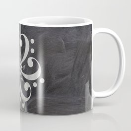 Music mandala on chalkboard Coffee Mug