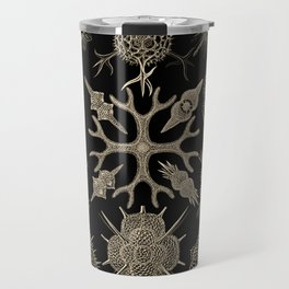 """Spumellaria"" from ""Art Forms of Nature"" by Ernst Haeckel Travel Mug"