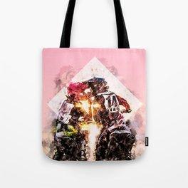 Bikers in love Tote Bag