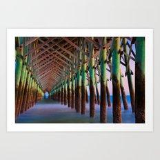 Under the Pier 1 Art Print