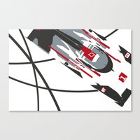 audi Canvas Prints featuring e-tron by Cale Funderburk